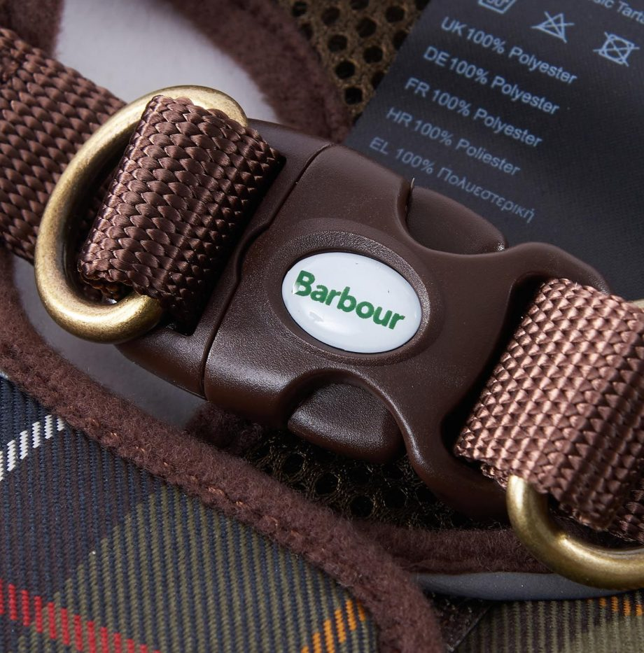 Harnais_Step_In_Dog_Harness_Barbour_Classic_Tartan_3