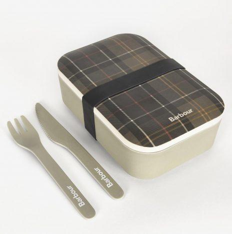 Lunch Box et Couverts en Bambou Barbour