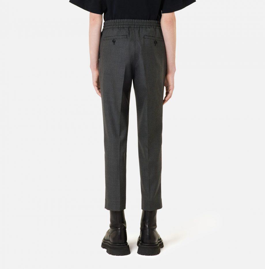 Pantalon_Cropped_Taille_Elastique_Ami_Pied_de_Poule_Gris_:_Noir_4