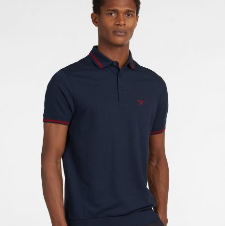 Polo Barbour Farlane Tipped Navy