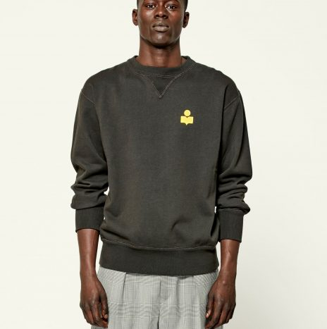 Sweat Mike Isabel Marant Yellow/Faded Black
