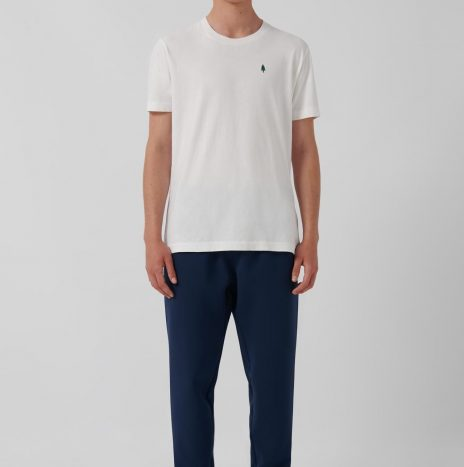 Tee-Shirt Quinto Loreak Mendian Blanc
