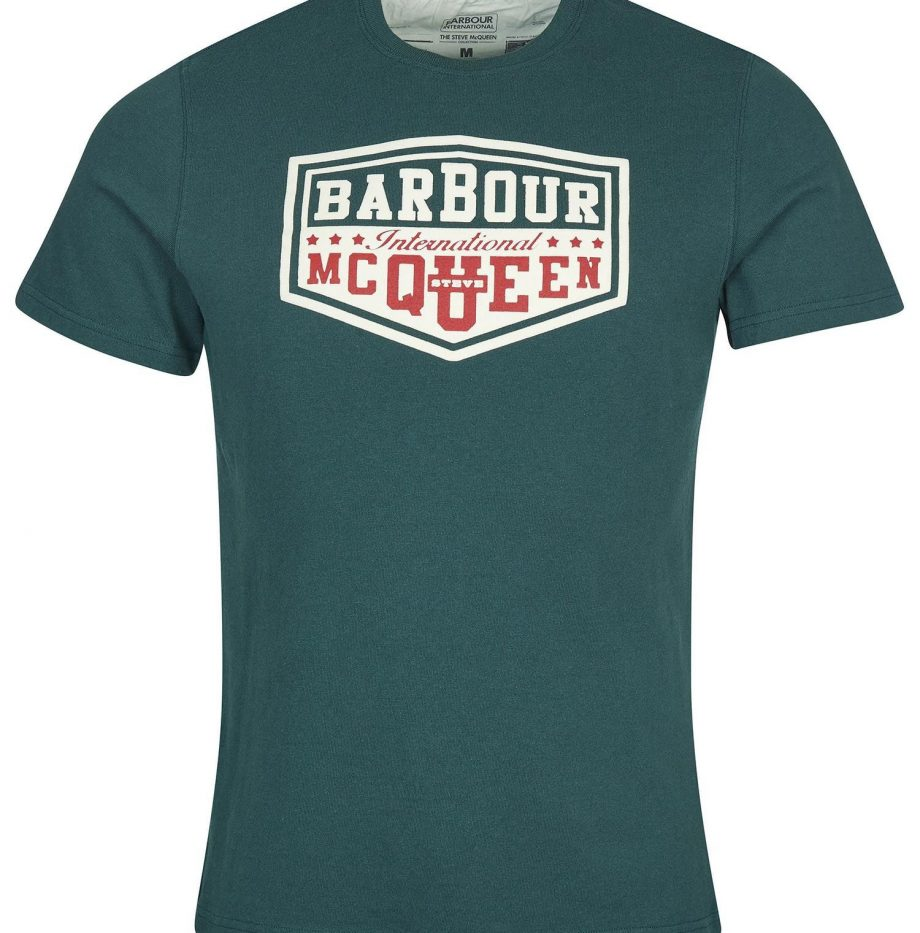 Tee-Shirt_Torx_STEVE_MCQUEEN™_Barbour_Deep_Green_2
