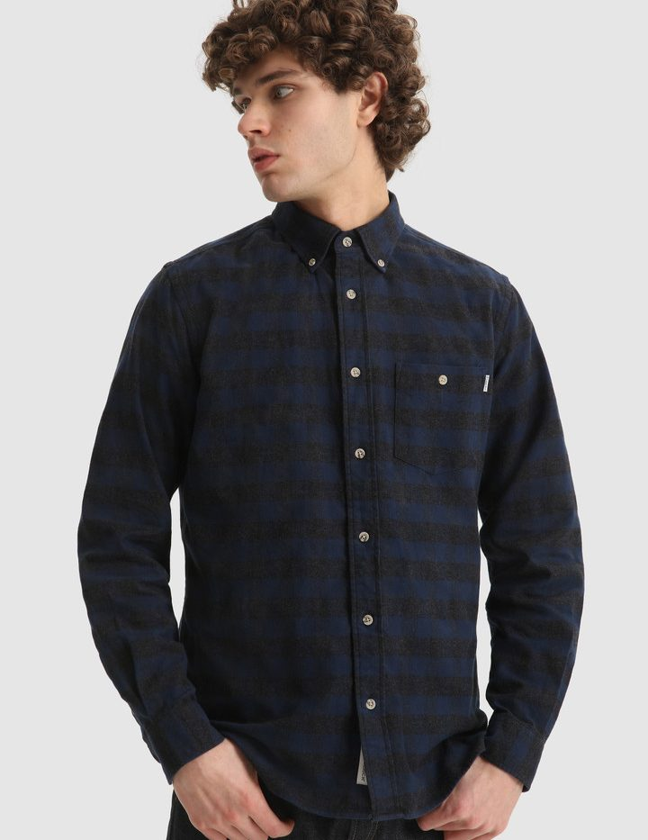 Traditional_Flannel_Chemise_WoolRich_Blue_Buffalo