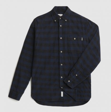 Traditional Flannel Chemise WoolRich Blue Buffalo