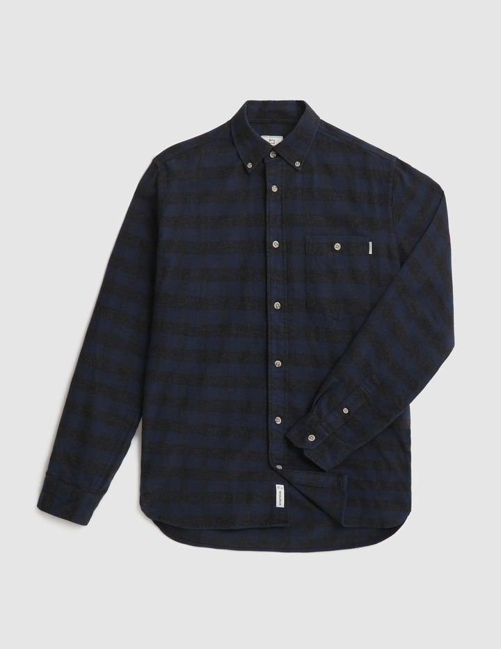 Traditional_Flannel_Chemise_WoolRich_Blue_Buffalo_7