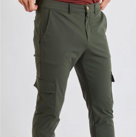 Lescudo Pantalon Cargo Cala Kaki